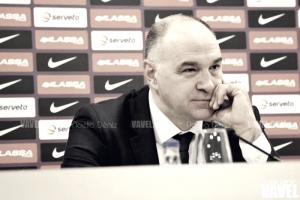 """Pablo Laso: """"Han sido capaces de mantenerse centrados todo el partido y le hemos dado la vuelta"""""""