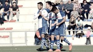 Resumen CE Sabadell 0-2 FC Badalona en Segunda División B 2017