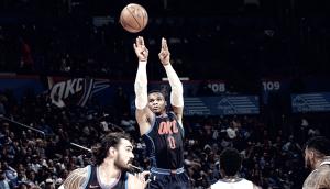 Momentazo de la jornada: los Thunder no quieren ganar