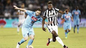 Resultado Nápoles vs Juventus en la Serie A 2015 (2-1)