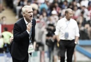 """Deschamps nega falta de ambição da França após ficar no zero com Dinamarca: """"Queríamos ganhar"""""""