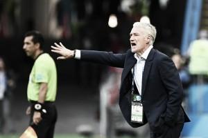 """Deschamps elogia atuação da França apesar de sustos contra Argentina: """"Jogo grande"""""""