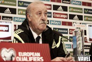 """Del Bosque: """"Hemos jugado bien y hemos controlado el partido"""""""