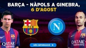 Live SSC Naples - FC Barcelone, le match en direct