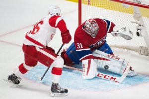 Detroit Red Wings Fall In Overtime To Montreal Canadiens