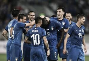 La nueva Italia echó a andar frente a Arabia Saudí
