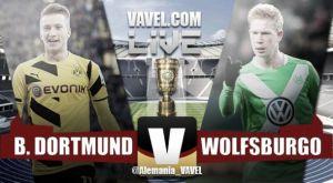 Risultato Borussia Dortmund vs Wolfsburg Finale DFB Pokal (1-3), Wolfsburg Campione