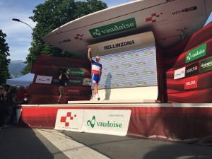 Giro di Svizzera, Démare vince in volata a Bellinzona