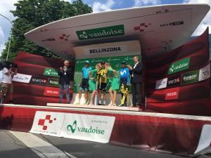 Giro di Svizzera, la crono conclusiva incorona Porte e Kung
