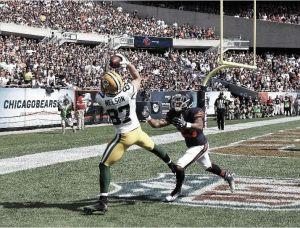 La gran ofensiva de los Packers acaba con Chicago
