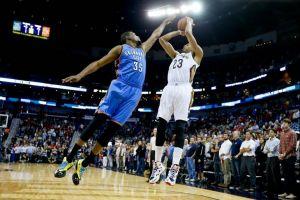 Oklahoma naufraga en el regreso de Durant