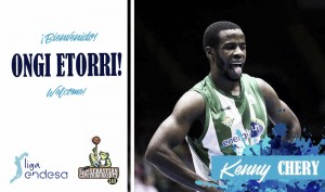 Kenny Chery refuerza al Gipuzkoa Basket