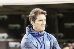 """Guillermo Barros Schelotto: """"Al equipo lo vi bien"""""""