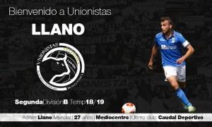 Adrián Llano firma por Unionistas
