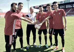 Pito Camacho, Melli, Mario, Jaime Santos y Diego Peláez ya visten la camiseta del Mirandés