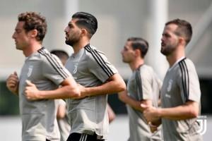 Juventus, si ricomincia: la mattinata alla Continassa