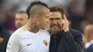 "Roma, Di Francesco: ""Devo valutare Defrel e Manolas"""