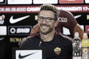 """Roma, parla Di Francesco: """"Florenzi in campo, Schick può entrare a gara in corso"""""""