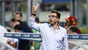 Europa League - Di Francesco analizza la sconfitta con il Genk