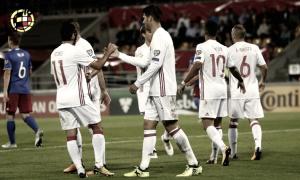 Liechtenstein - España: puntuaciones España, clasificación Mundial de Rusia 2018