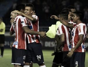 Junior dejó a Lanús en el camino y está en octavos de la Copa Sudamericana