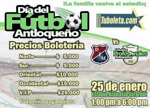 Independiente Medellín listo para el Día del Fútbol Antioqueño