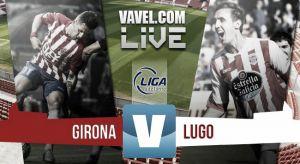Resultado del Girona - Lugo en Liga Adelante 2015 (0-1)