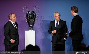 Butragueño, Amancio y Gento llevan la Champions a Berlín