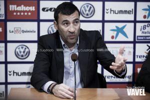"""Raúl Agné: """"He visto la posibilidad de ganar los tres puntos"""""""