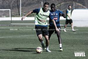 """Aridane Santana: """"Sé que la afición está con el equipo"""""""