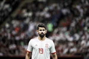 """Decisivo, Diego Costa fala sobre alívio após vitória: """"O importante era ganhar e seguir em frente"""""""