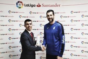 Diego López, nombrado mejor jugador del mes de noviembre