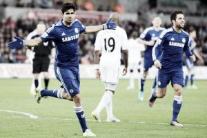 Il Chelsea ne fa cinque allo Swansea, prestazione sontuosa