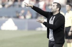"""Diego Martínez: """"Me quedo con la actitud del equipo"""""""