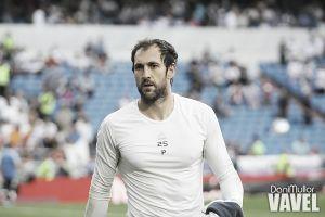 """Diego López: """"Solo puedo dar las gracias al RealMadrid"""""""
