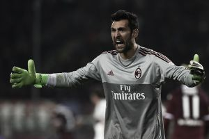 AC Milan goalkeeper Diego Lopez out indefinitely with patellar tendinitis