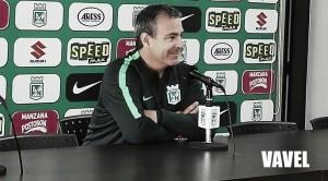 """Diego Ossés: """"El equipo lo hemos visto en muy buena condición, son muy profesionales"""""""