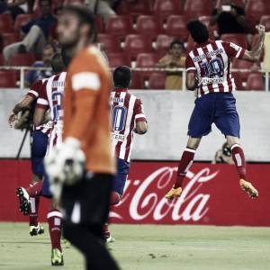 El Atlético de Madrid se agarra a Diego Costa y vence en Sevilla