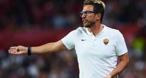 """Roma, Di Francesco: """"Non siamo da Scudetto. Nainggolan titolare contro l'Inter"""""""