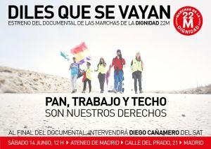 'Diles que se vayan', el documental sobre el 22-M