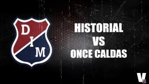 Historial: leve paternidad de Medellín ante Once Caldas