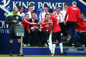 United team furious due to Di Maria substitution
