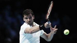 Dimitrov desbanca Thiem na primeira rodada do ATP Finals
