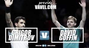 Previa Grigor Dimitrov - David Goffin: sabor a revancha