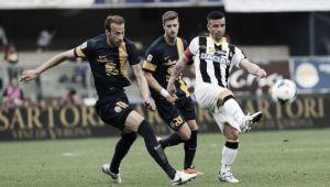 Udinese, a Verona in cerca di continuità