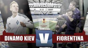Resultado Dinamo Kiev vs Fiorentina en la Europa League 2015 (1-1)