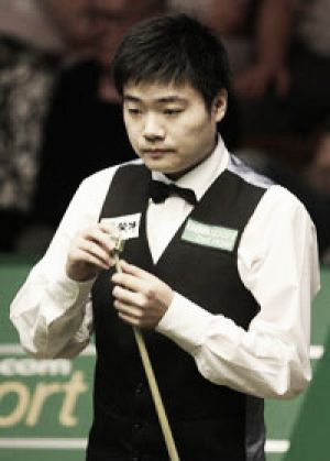 Ding secures last sixteen place