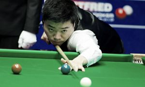 Ding secures place in the last eight