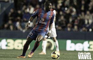 """Diop: """"Hay partidos que me salen mejor o peor, pero siempre intento dar lo máximo"""""""