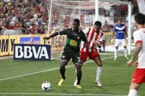 Boakye, gol y movimiento